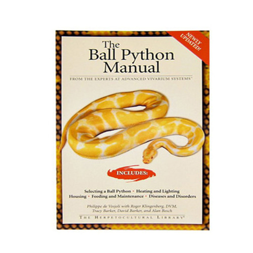 [B급 초특가] The Ball Python Manual